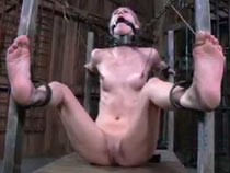 Slave with iron collar