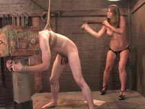 Slaveboy objectified and used