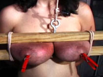 Extreme squeezing of tits